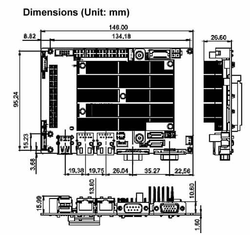 Wafer-CV-D25502/N26002 dimensions