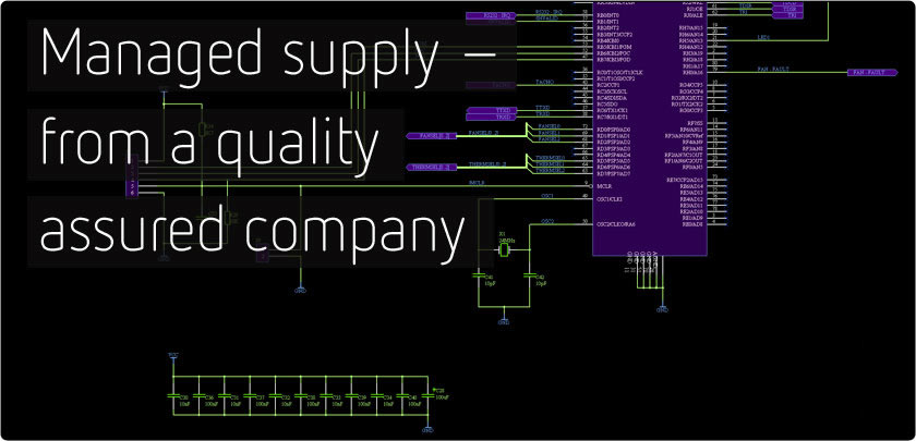 Managed supply - from a quality assured company